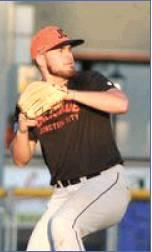 Jack Christian pitched a complete nine-inning game for Junction City to win the Mid-Plains League Championship. (Photo by Mid-Plains League)