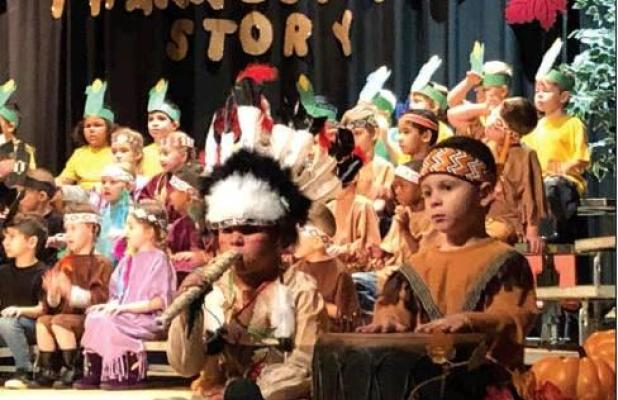 Thanksgiving celebrated at Checotah schools