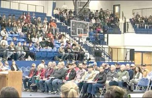Checotah honors Veterans with breakfast and assembly