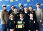 Local FFA officers attend leadership training conference