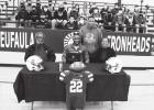 Alexander signs Army offer